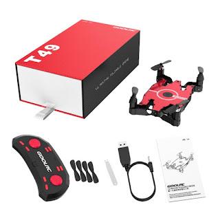 Spesifikasi Drone GoolRC T49 dan JJRC H49 - OmahDrones