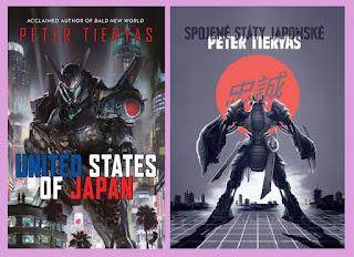 Portadas de la novela ciberpunk Estados Unidos de Japón