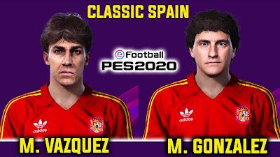 PES 2020 Faces Martín Vázquez & Michel González by Andri Mod