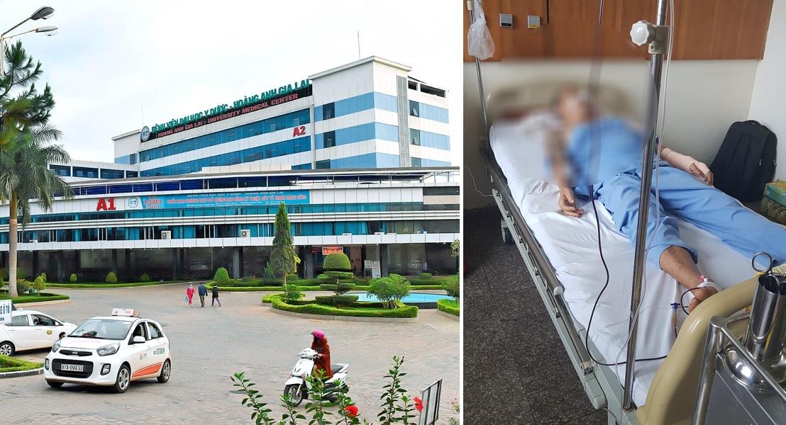 Giang hồ ngang nghiên xông vào Bệnh viện Hoàng Anh Gia Lai truy sát một bệnh nhân