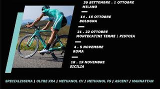 Locandina del Bianchi bike test