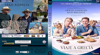 CARATULA VIAJE A GRECIA - THE TRIP TO GREECE2020[COVER BLU-RAY]