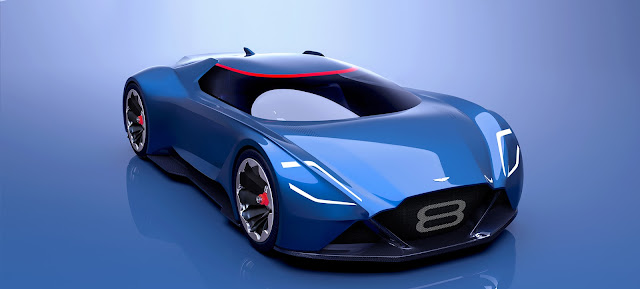 Aston Martin Vision Concept Car All Concept Cars New Zealand - Aston martin concept