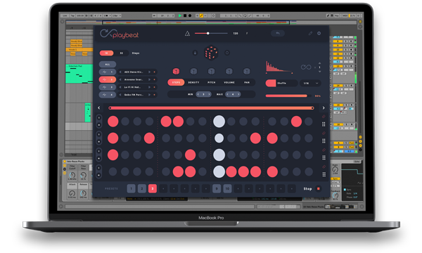 PLAYBEAT 2.0 beat making plugin
