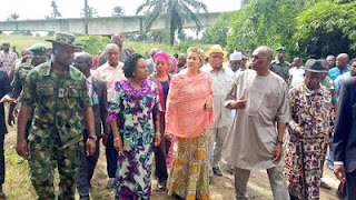 Minister of Environment, Amina Mohammed visits Rivers State ahead of clean up exercise
