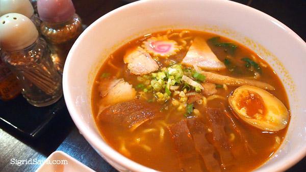 Jigoku Ramen - Izumi Japanese Kitchen - Bacolod restaurants