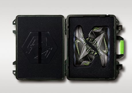 a4e417e83e6f Here is a look at the exclusive China Release of the Nike LeBron 12 Dunk  Force Sneaker with a Limited Briefcase