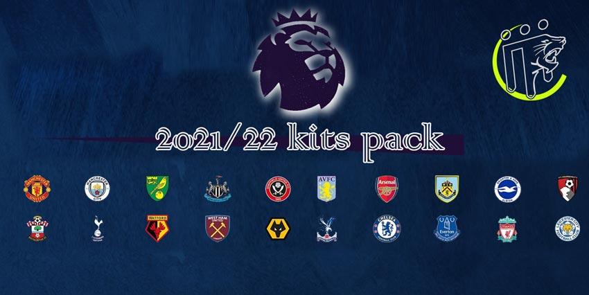 Premier League Kitpack Season 2021-2022 For PES 2013
