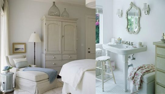 L 39 appartamento al piano di sotto shabby chic country for Arredo bagno in stile provenzale