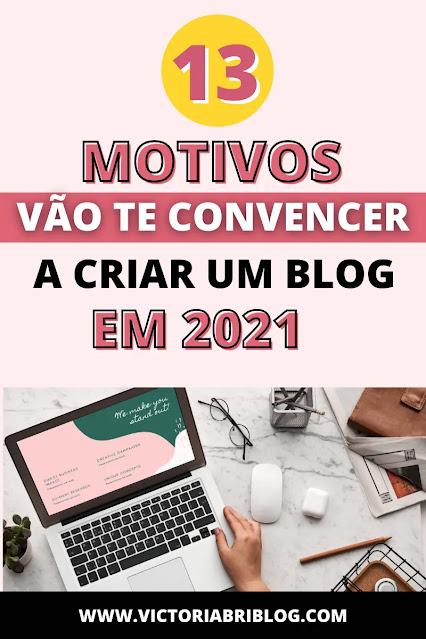 Criar um blog em 2021