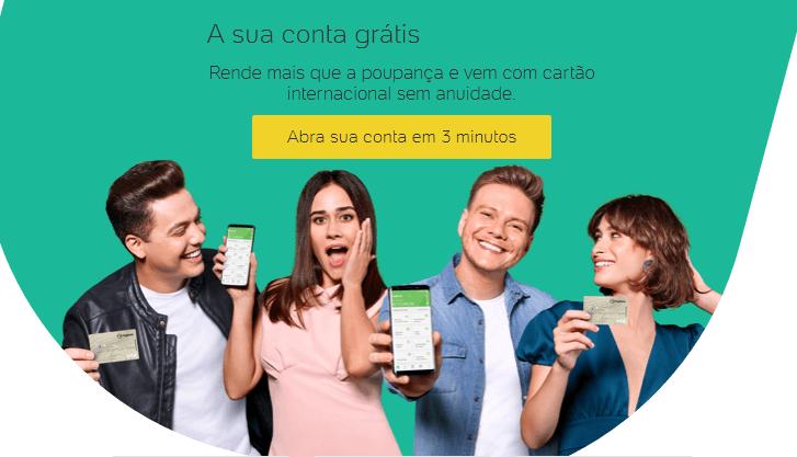 aplicativo grátis de pagamento de conta