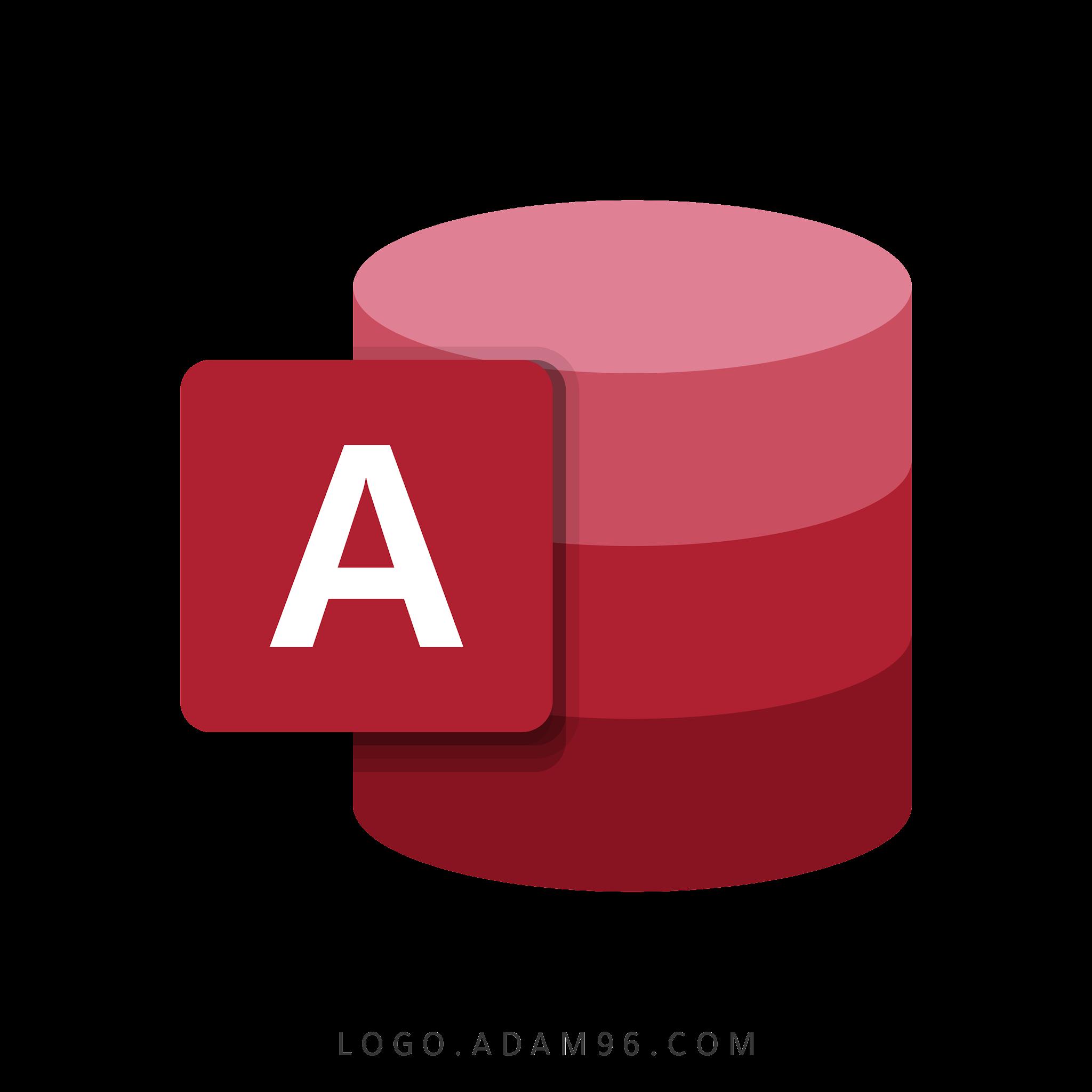 تحميل شعار مايكروسوفت أكسس لوجو رسمي عالي الدقة بصيغة Logo Microsoft Access PNG
