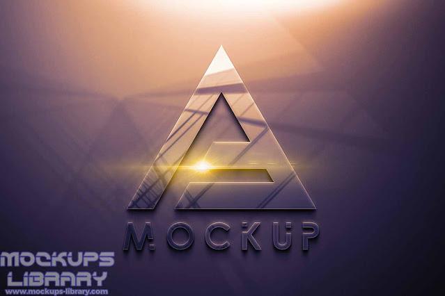 free psd logo mockup 3