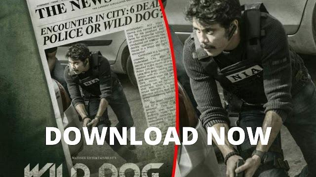 Wild Dog (2021) Full Movie Download Filmywap Moviesda (480p, 720p)