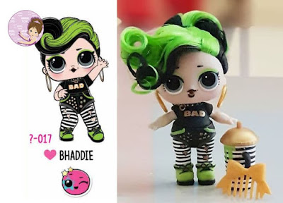 Bhaddie doll L.O.L. Surprise Hair Goals wave 1