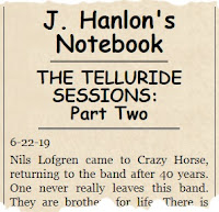 John Hanlon's Notebook
