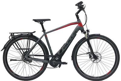 bicicleta eléctrica de trekking alta gama