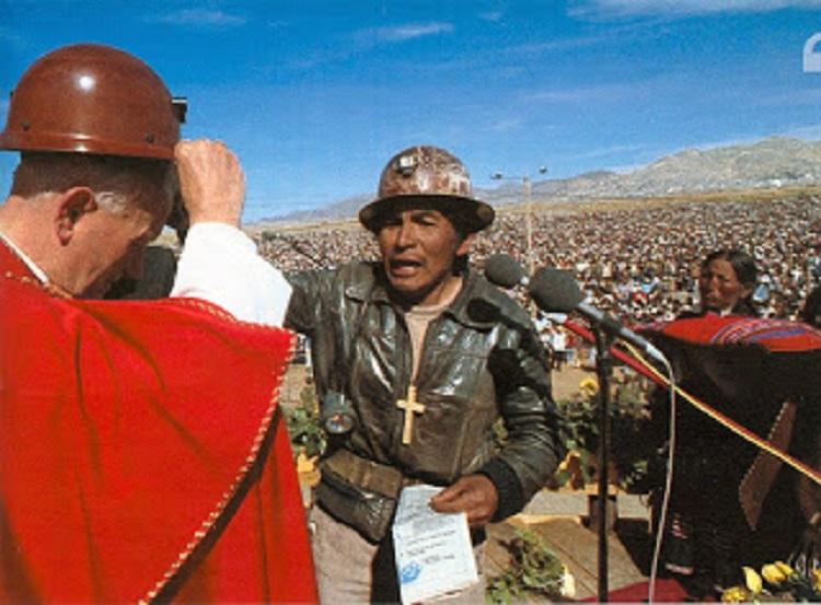 Juan Pablo II estuvo en Bolivia en mayo de 1988 / WEB