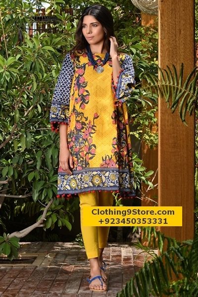 Khaadi Midsummer Collection 2017-18