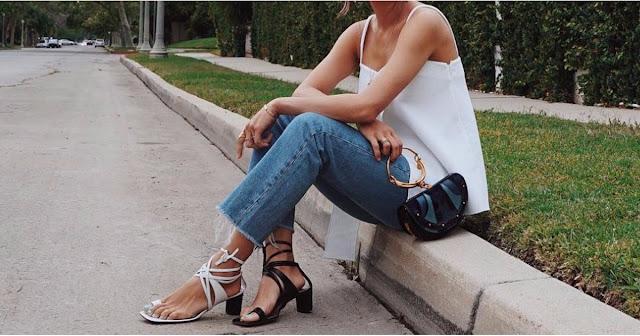 Blog Achados de Moda - um sapato de cada cor em cada pé
