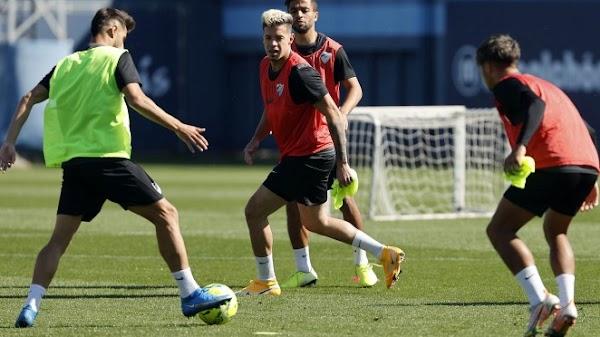 Málaga, regreso al entrenamiento con la ausencia de Escassi