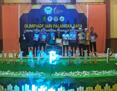 Mahasiswa PAI Juara UMUM Tingkat Institute Dalam Olimpiade IAIN Palangka Raya