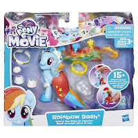 MLP The Movie Rainbow Dash Land & Sea Snap-on Fashion Brushables