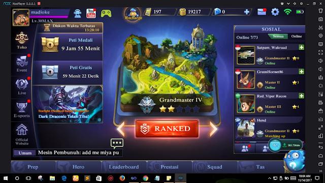 5 Kelebihan Main Mobile Legends di Emulator, Coba ya