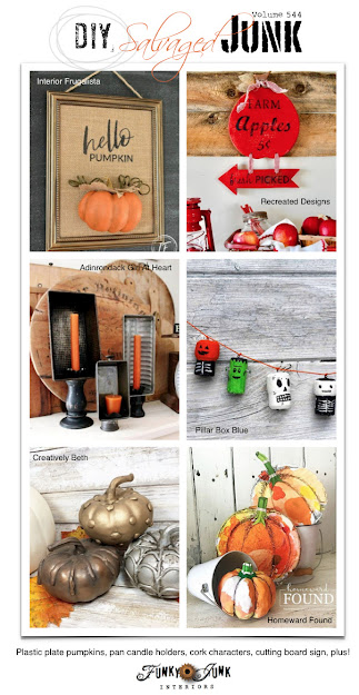 junk projects, junking, junk makeover, featured projects, DIY, Funky Junk Interiors blog, upcycle, repurpose, reuse, recycle, home decor diy home decor