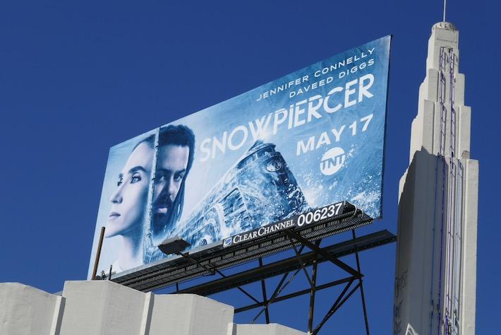 Snowpiercer TV remake billboard