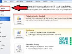 Cara Mengedit File MS Word yang Dikunci