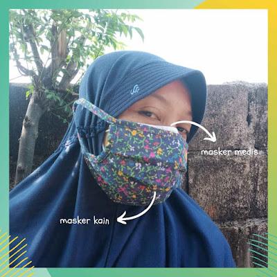 cara-menggunakan-double-masker