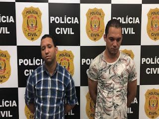 Dois irmão de Oeiras do Piauí são presos em Brasília acusados de golpes