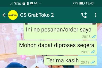 Bukti Transfer & Bukti Chat Dengan CS grabtoko.com - Korban Dari Bogor Atas Nama Ibu Imelda