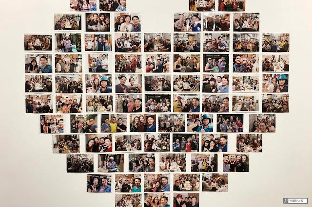 【大叔生活】2021 又是六天五夜的環島小筆記 (住宿篇) - 茶水間有片愛心牆,上面都是老闆和背包客們的合照