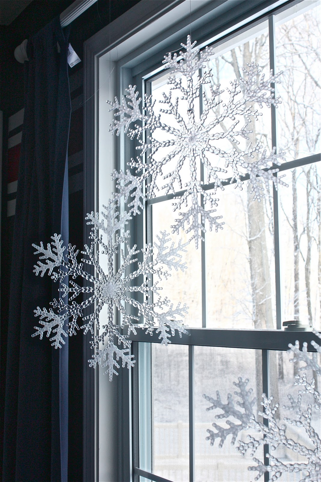 Decorating A Window For Living Room Wall: The Yellow Cape Cod: Holiday Home Series: Nautical Christmas
