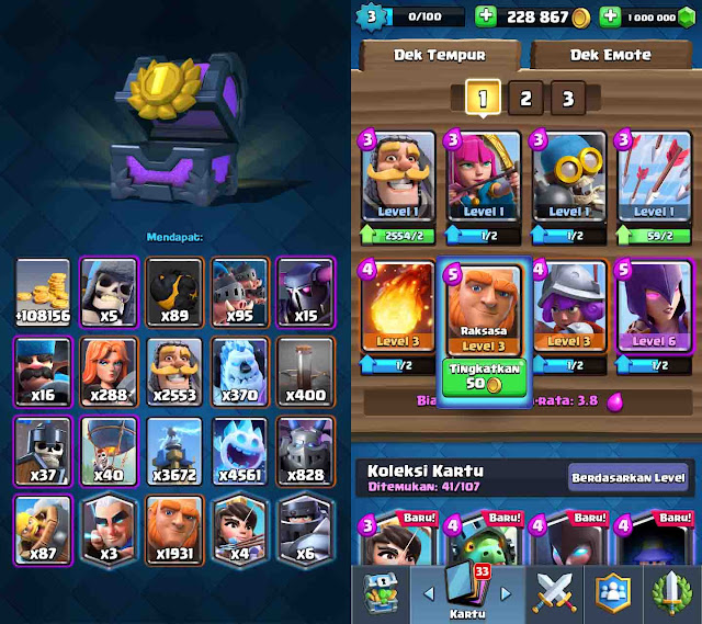 cheat clash royale asli terbaru