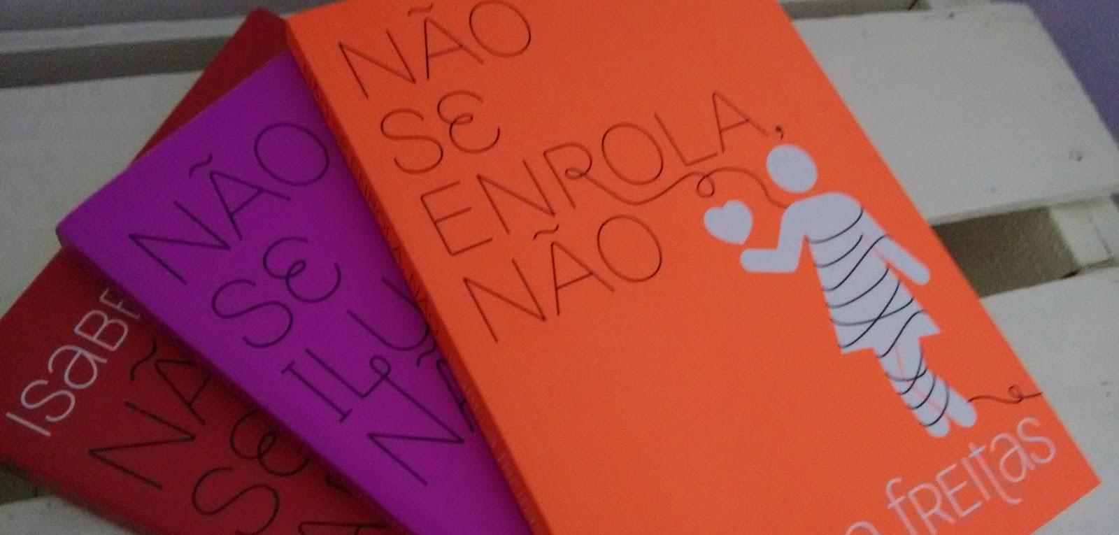 Tag Kit Livros Não Se Apega Não Não Se Iluda Não Não Se Enrola Não