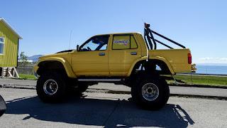 Iceland monster trucks