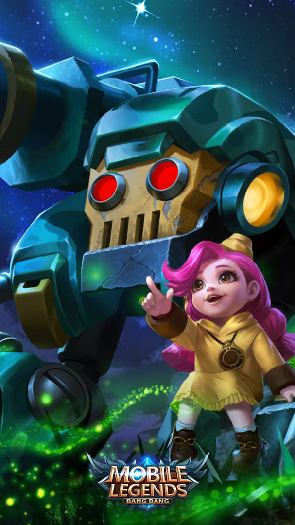 Wallpaper Jawhead Girl Scout Skin Mobile Legends HD for Android and iOS