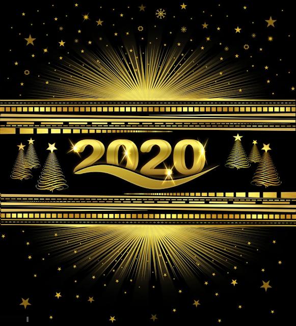 Semoga Anda sangat bahagia tahun baru 2020