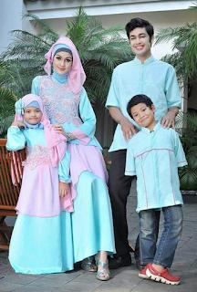 Gambar Model Baju Lebaran Keluarga Couplean