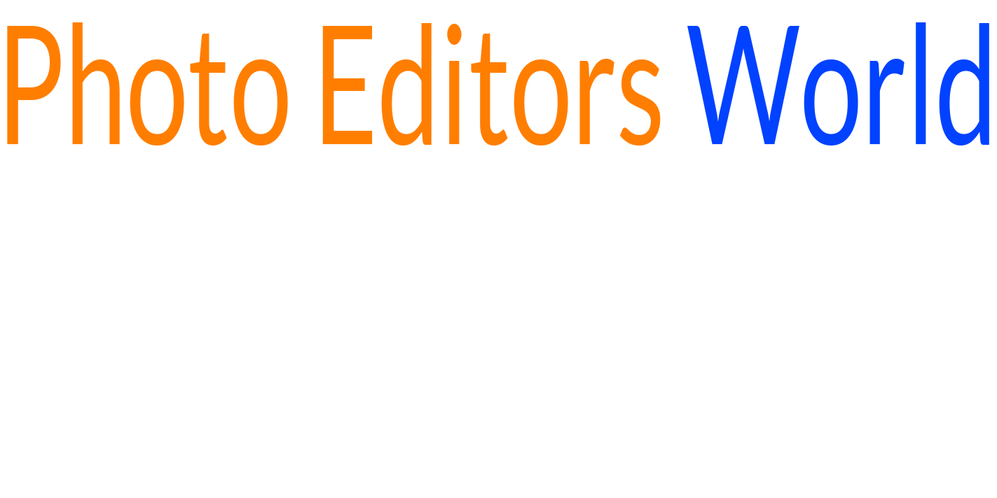 Photo Editors World