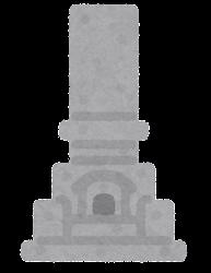 墓石のイラスト2