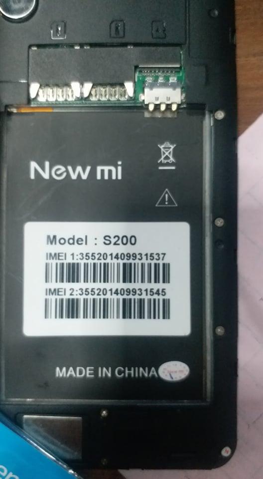 MOBILE K S E: New Mi S200 Firmware Download 100% Test