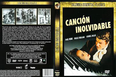Carátula dvd: Canción inolvidable / Una canción para recordar