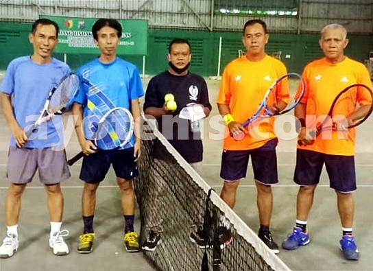 Muji Slamet/Dhamis AU Melaju ke Putaran 2 PELTI Sidoarjo Tennis Tournament 2020