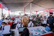 TNI AU Beri 1.500 Vaksi Untuk Masyarakat Jember