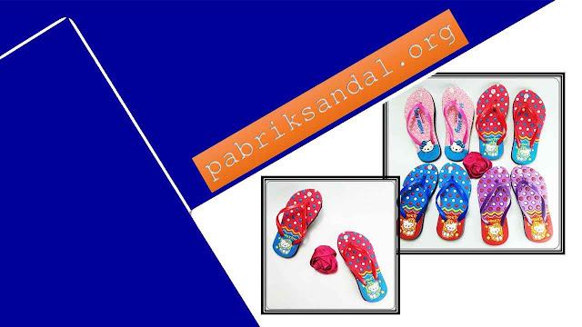 Pabrik Sandal Motif Hellokitty Termurah - Sandal AB Love-HK Simplek Anak