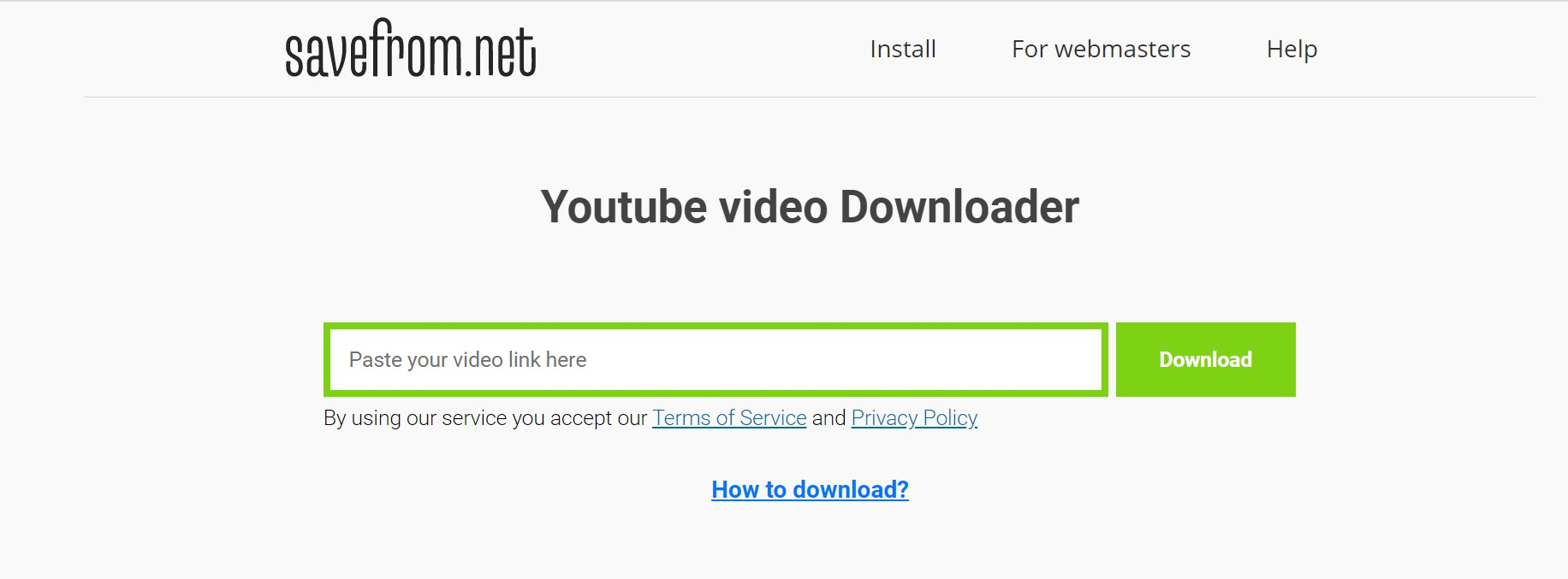 Download Videos YouTube SS